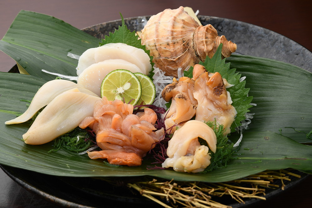 Shellfish Mixed Sashimi Platter