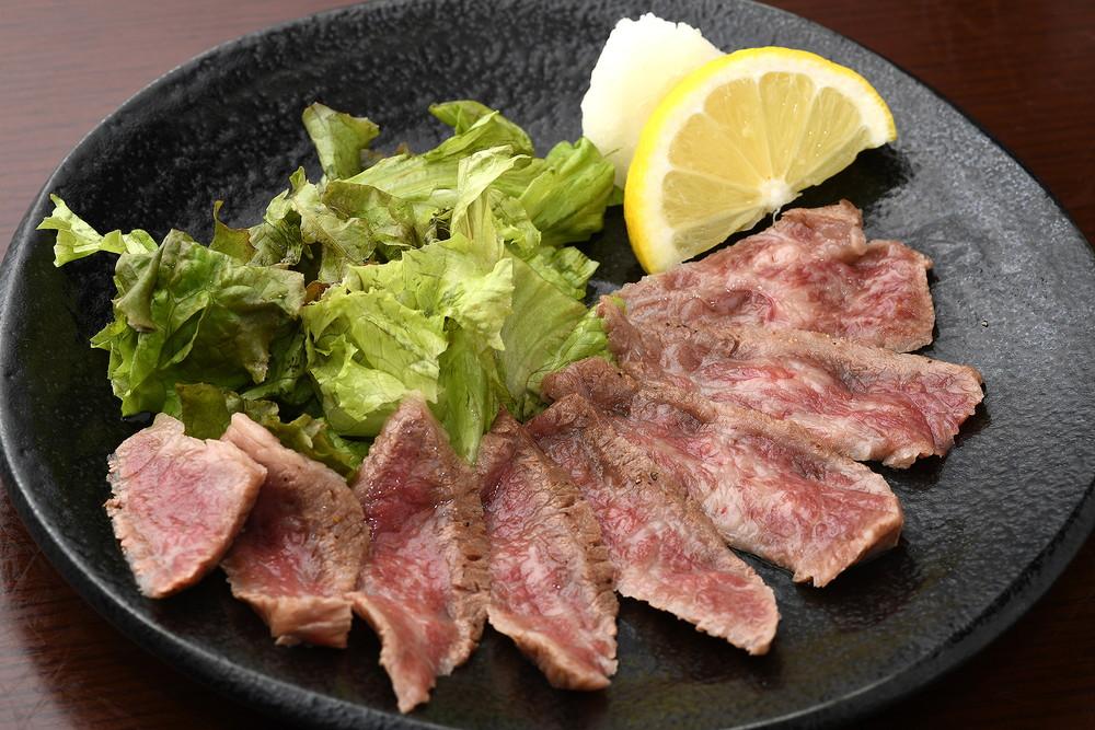 Beef Carpaccio(Roast Beef with ponzu souce)